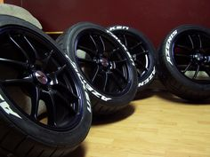 White letter tire paint on low profile tires