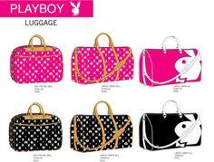 Playboy Bunny Luggage