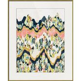 Found it at Joss & Main - Jeweled Terrain Framed Print