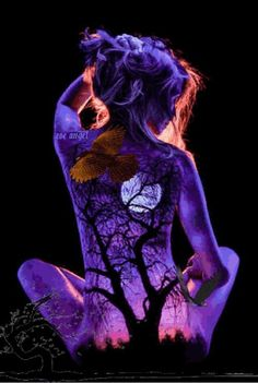 30 most incredible and captivating body art illusions . - 30 most incredible and captivating body art illusions - Illusion Kunst, Illusion Art, Photographie Art Corps, Different Forms Of Art, Body Art Photography, Digital Art Girl, Galaxy Wallpaper, Psychedelic Art, Surreal Art