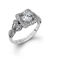 bd4ffa3953a63d Simon G Guinevere Engagement Ring Setting - Barsky Diamonds Tacori Rings,  Tacori Engagement Rings,