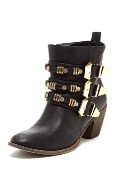 Tria Bootie - buckles! only $39 on Hautelook, 3 colours.