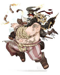 i want a pirate junkrat skin to go with roadhog's sharkbait skin