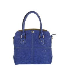 Take a look at this Blue Lace Overlay Handbag by Darling on #zulily today!40