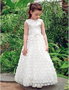 Una línea princesa Bateau Lace palabra de longitud - MXN $ 1,014.43