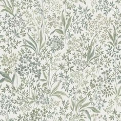 A classic pattern from our archives, Nocturne features a tight floral pattern, hand-painted and presented in both light and dark shades. Timeless charm with a contemporary twist, perfectly complimenting the modern, trend-conscious home. A classic pattern Lit Wallpaper, Green Wallpaper, Wallpaper Samples, Pattern Wallpaper, Cottage Wallpaper, How To Hang Wallpaper, Retro Wallpaper, Scandinavian Wallpaper, Scandinavian Design
