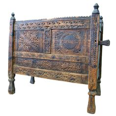 I have a Swat chest just like this - love it 1stdibs | Antique  textiles chest