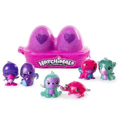 All 9 Of My Hatchimals New Names Hatchimals Surprise Eggs Chad Alan Pinterest Top
