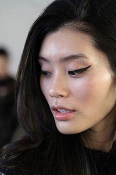 Winged Eyeliner - editorial eye makeup inspiration