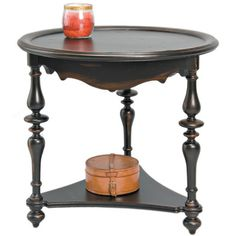 Reual James Cambridge End Table