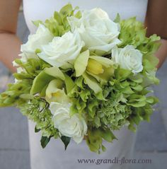 Roses, Cymbidium Orchids, Hydrangea
