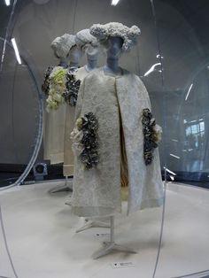 "Comme des Garçons ""White Drama"", Cristóbal Balenciaga ""Fashion Collector"" & PGL by Pigalle // Les Docs, Paris."