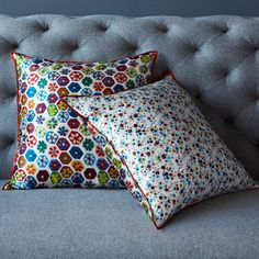 Sarah Campbell Reversible Spring Flowers Pillow Cover | west elm