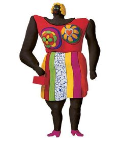 Dolorès, 1968-1995, 550 cm, Résine peinte / grillage, Sprengel Museum, Hanovre,© 2014 Niki Charitable Art Foundation, All rights reserved. Donation Niki de Saint Phalle -