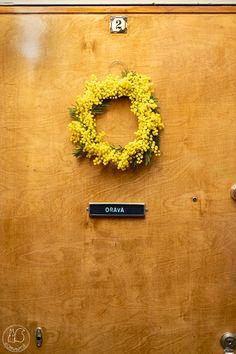 Oravanpesä: MIMOSAKRANSSI. Symbols, Homes, Letters, Interiors, Pray, Houses, Home, Letter, Decoration Home