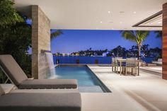 Miami Beach Island Home by Choeff Levy Fischman « HomeAdore www.fiori.com.au modern outdoor and backyard design ideas