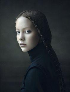 I like the braid..Desiree Dolron