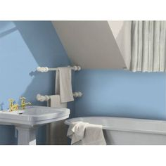 Blue Lagoon Dulux paint - available now at Homebase in store and online at homebase.co.uk.