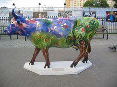 krowa - Ola Buderkiewicz - portfolio w Artserwis.pl: prawo autorskie, oferty pracy, galerie - grafika, fotografia, reklama