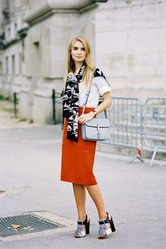 Vanessa Jackman: Paris Fashion Week SS 2015....Maria