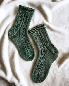 Ravelry: Wood Nymph pattern by This Handmade Life – Knitting Socks Knitting Stitches, Knitting Socks, Knitting Designs, Knitting Patterns Free, Knitting Projects, Baby Knitting, Knitting Tutorials, Knitting Machine, Vintage Knitting