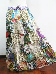 love the hippie skirts! I really dunno why but I'm so in love with this! And I'm gonna make it!
