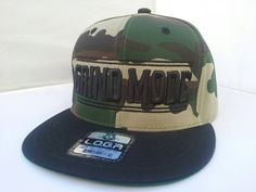 Hey, I found this really awesome Etsy listing at https://www.etsy.com/listing/287028273/camouflage-black-grind-mode-snapback-hat