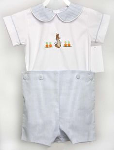 Bunny Romper for Baby Boy Easter Outfit, Peter Rabbit Outfit for Boy, Boys Easter Outfit, Boy Easter Outfit 293334