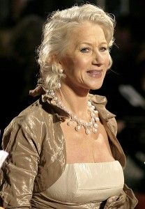 "A recent poll (2011) by LA Fitness awarded 66-year-old Helen Mirren with the Body of the Year award. She beat out supermodels like 48-year-old Elle Macpherson and actresses half her age like Kelly Brook and Cheryl Crow. LA Fitness marketing director, Tony Orme, said: ""It's great to see the public celebrating bodies of all shapes and sizes, and proving that you really can look fabulous over 40 and 50."""