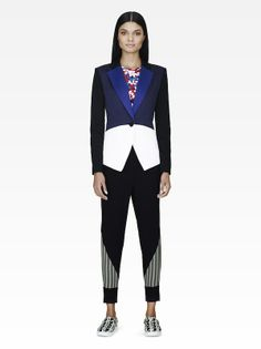 This look suits us well. Shop Peter Pilotto for Target starting February 9.