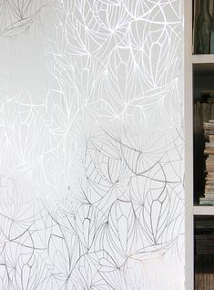Erica Wakerly - Leaf White Silver