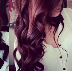 color Red Curls, Hair Locks, Gorgeous Hair, Love Hair, Beautiful, Cute Hair Colors, New Hair Colors, Dream Hair, Big Curly Hair