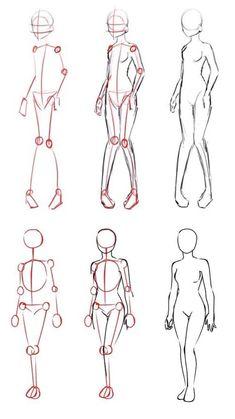 Body Anatomy Drawing Tutorials – Body Anatomy Drawing - drawing tips Drawing Reference Poses, Drawing Poses, Drawing Tips, Hand Reference, Drawing Techniques, Sketch Drawing, Manga Drawing, Drawing Ideas, Sketching
