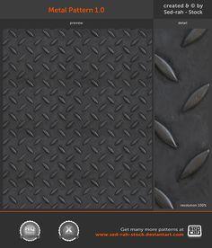Metal Pattern 1.0 by Sed-rah-Stock