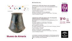 Horario del Museo de Almería para el año 2014.
