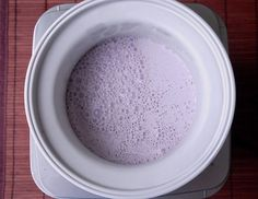This amazingly easy recipe for grape soda ice cream is delicious and creamy. It only has two ingredients! Grape Ice Cream, Ice Cream Mix, Ice Cream Maker, Grape Soda, Easy Meals, Tableware, Ideas, Dinnerware, Ice Cream Maker Machine