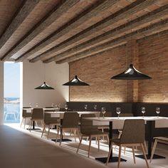 Lámpara de techo negra Conference Room, Table, Furniture, Home Decor, Black Ceiling, Pendant Lamps, Homemade Home Decor, Meeting Rooms, Tables