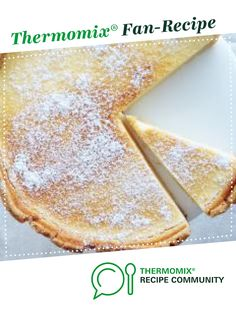 Recipe Lemon & Lime Tart by Caroline Novinc, learn to make this recipe easily in your kitchen machine and discover other Thermomix recipes in Baking - sweet. Lime Recipes, Sweet Recipes, Vanilla Bean Ice Cream, Recipe Community, Lemon Lime, Tarts, Keyboard, Sweet Treats, Thermomix