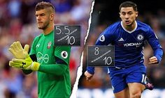 30 October 2016 / Southampton 0-2 Chelsea: Eden Hazard edges back to his scintillating best as robust Blues backline finds its feet under Conte...