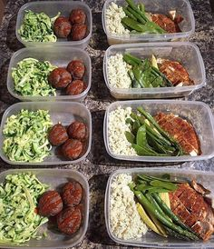 Meals are on point in this prep done by @eatright.workhard! He has Cajun chicken with cauliflower rice & oven roasted vegetables and beef meatballs topped with sriracha & zucchini noodles! - Set goals with @mealplanmagic and get your macros and make customized plans that help you prep to get the body of your dreams! - ALL-IN-ONE TOOL & GUIDES -  Build Custom Plans & Set Nutrition Goals  BMR BMI & Max Rate Calculator  Learn Your Macros by Body Type & Goal  Grocery Lists Automated to Weekly…