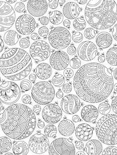 15 CRAZY Busy Coloring Pages for Adults - Page 11 of 16