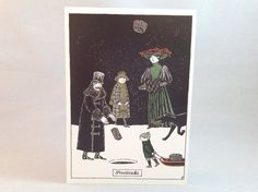 Edward Gorey Boxed Holiday Cards: Fruitcake