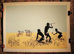 Banksy on evolution