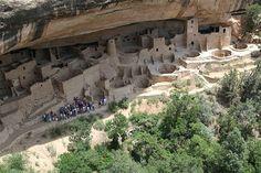 Ancient Pueblo in Mesa Verde National Park, Colorado