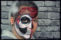 Foto - GoogleFotos Airbrush, Tattoos, Body Art, Halloween Face Makeup, Google, Pictures, Kids Makeup, Bodypainting, Tatuajes