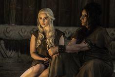 Daenerys and Dosh Khaleen Priestess - Book Of The Stranger - Season 6 Episode 4