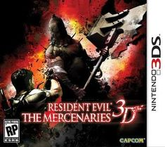 Hot New Release! Resident Evil: The Mercenaries - For the first time Resident Evil: The Mercenaries delivers the intense Mercenaries gameplay experience on a handheld console. Featuring re-mastered stages from Resident Evil 4 and Resident Evil Nintendo 3ds, 3d Film, Resident Evil 5, Latest Video Games, 3d Video, Thing 1, Ds Games, Peace Of Mind, Cool Things To Buy