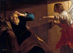 The Liberation of Peter, 1616- Gerard van Honthorst