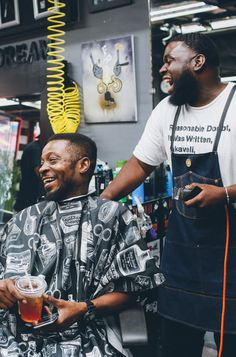 The relationship between a man and a barber is one based off of trust and kinship // BEVEL Barber Culture