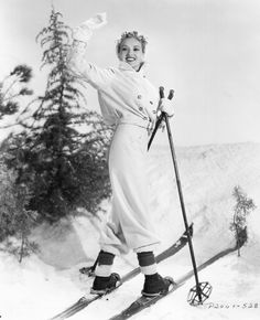 Betty Grable hits the (studio) slopes